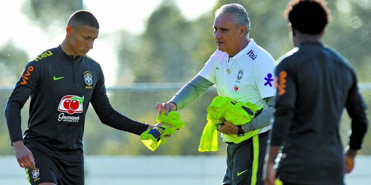Richarlison substitui Neymar nos amistosos da seleção: 'Vim para fazer gols'