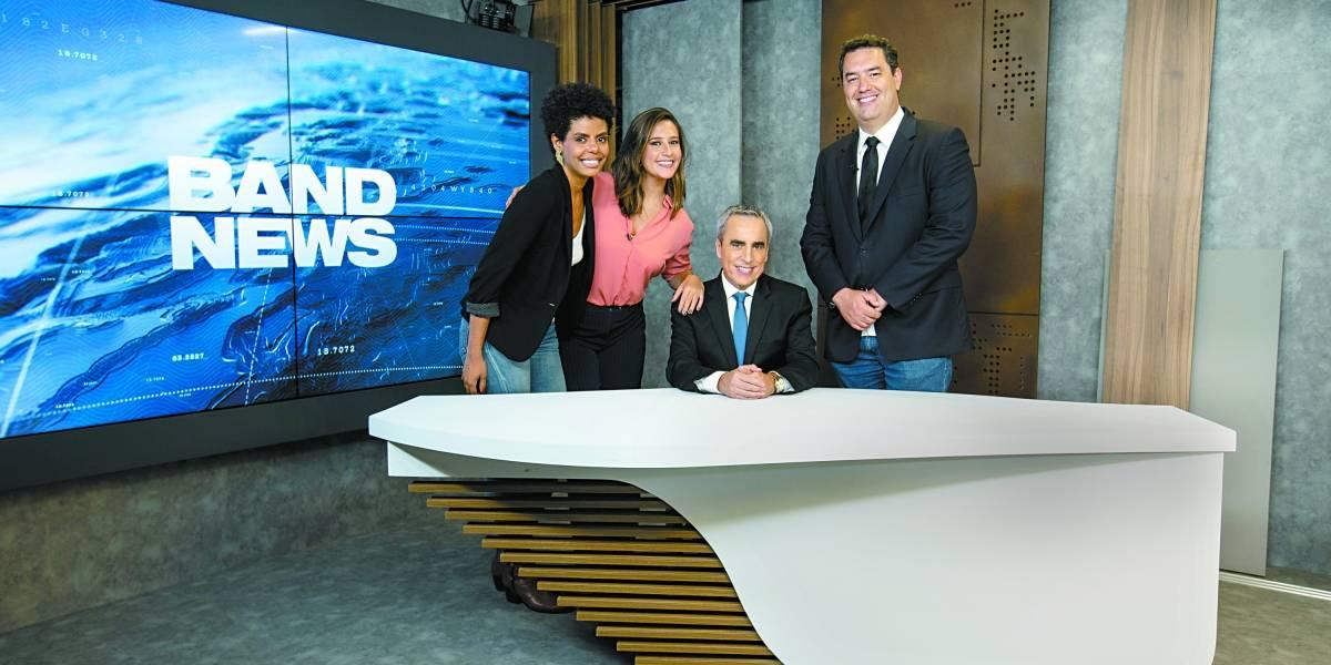 BandNews TV inaugura estúdios modernizados para festejar 18 anos