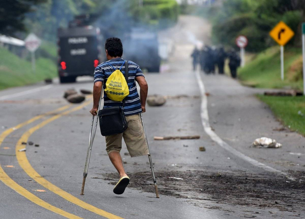 Paro indígena en Colombia EFE