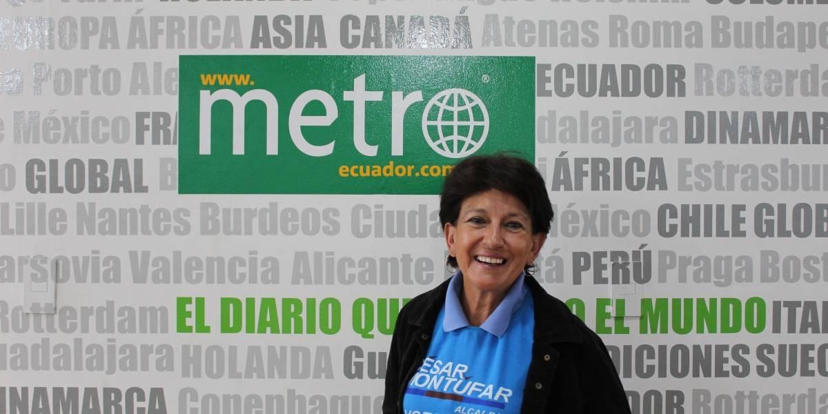 Alicia Durán Ballén: Mi afán es ayudar desde adentro para que se hagan los cambios