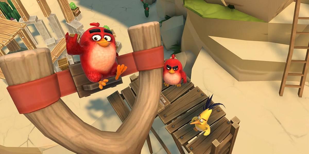 Angry Birds AR: Isle of Pigs revive la franquicia con Realidad Aumentada