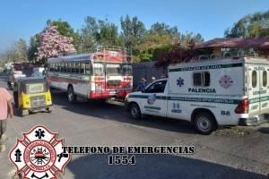 ataque contra bus en Palencia