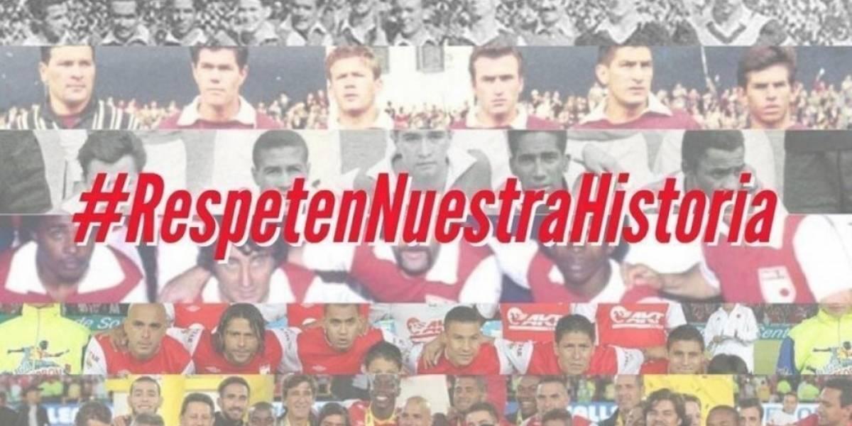 Con hashtag, hinchas de Santa Fe se manifiestan contra los directivos por crisis del club
