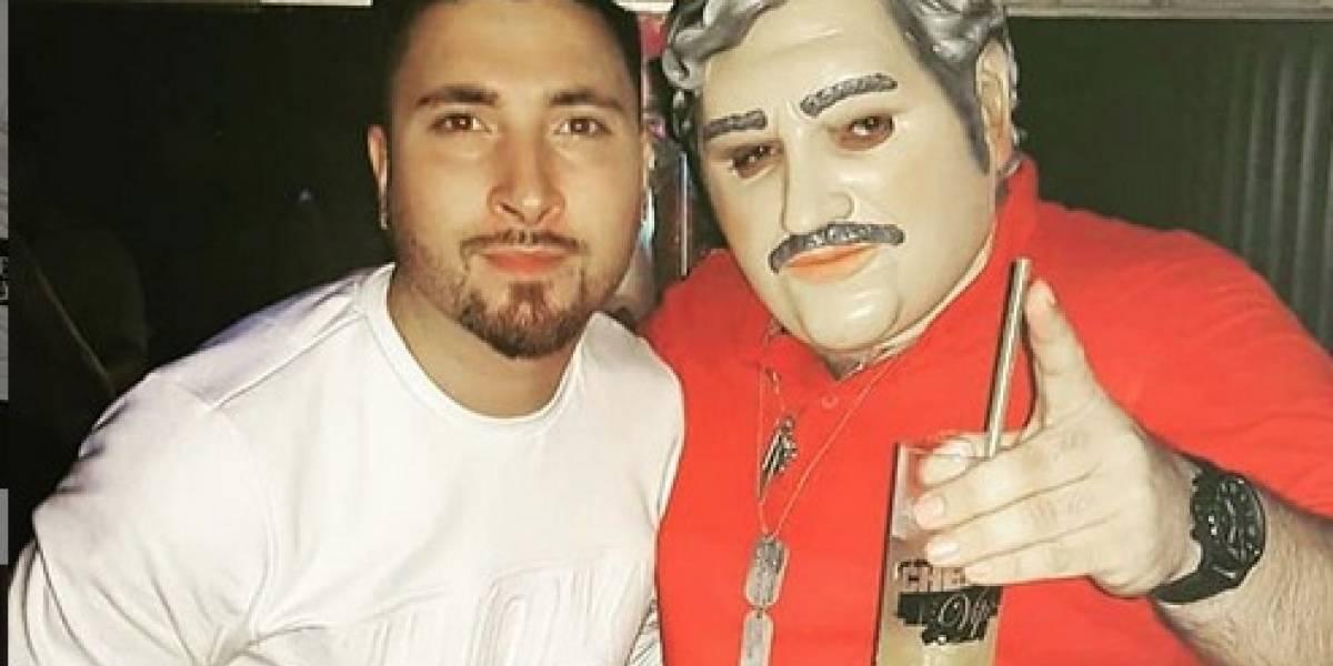 """Indignación en Argentina por """"noche colombiana"""" con Pablo Escobar en discoteca"""