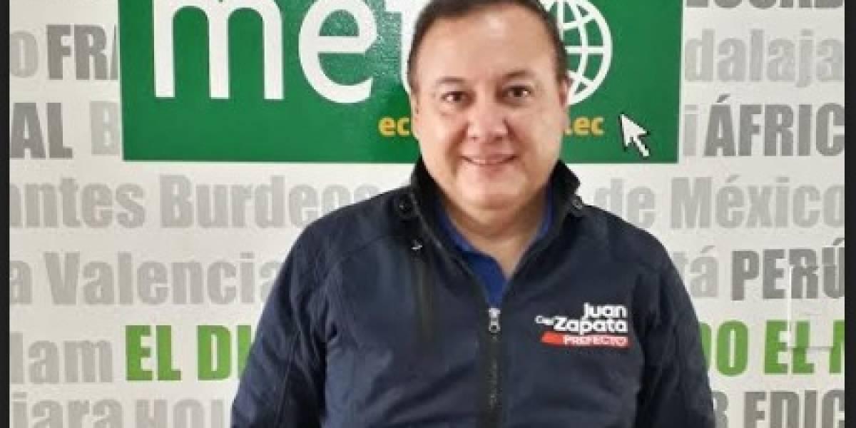 Juan Zapata: La seguridad vial es su pasión