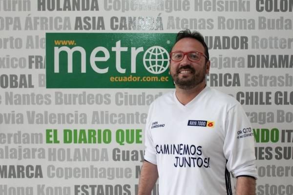 """Edwin Bosmediano:  """"El conocimiento, la experiencia, la juventud y las ganas para llevar las riendas de Quito"""""""