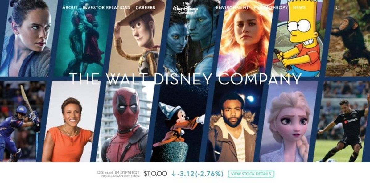 Una nueva era: Deadpool, Los Simpson y Avatar llegan a la página de Disney