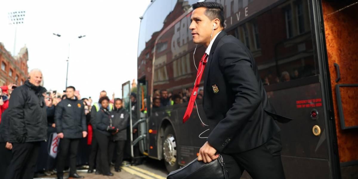 Alexis Sánchez confía que puede revertir su situación — Manchester United