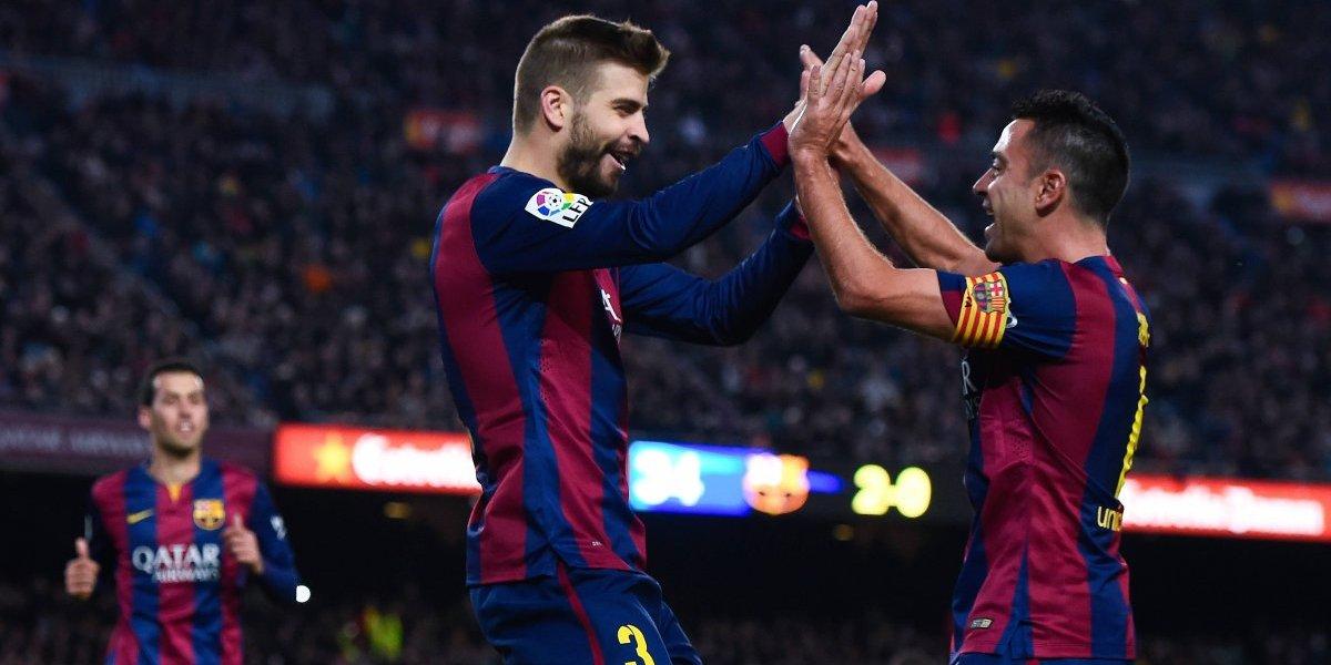 Piqué y Xavi estarán en la lista de la selección catalana