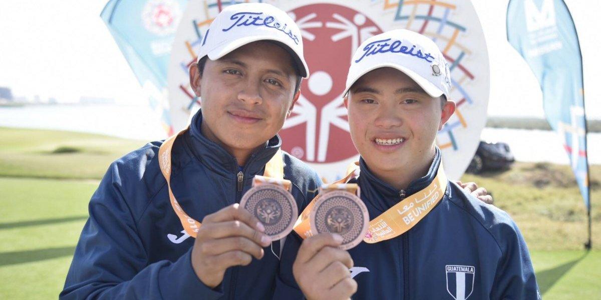 #GuateenAbuDhabi Delegación logra una cifra récord de medallas en los Juegos Mundiales de Olimpiadas Especiales