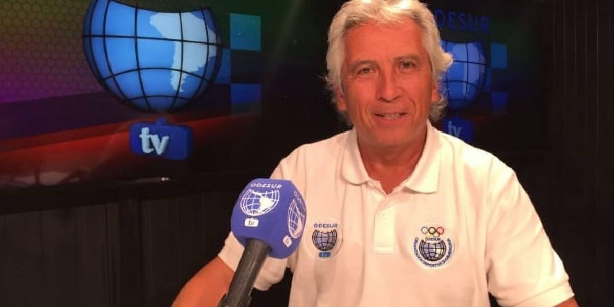 El relator de los goles de Zamorano que volvió como rostro de los Juegos Suramericanos en la televisión
