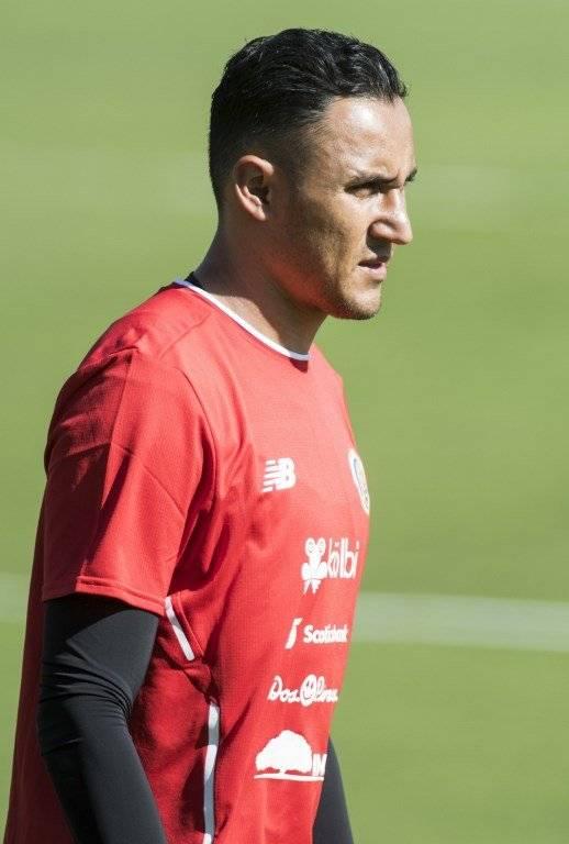 Keylor Navas, capitán y portero titular de Costa Rica