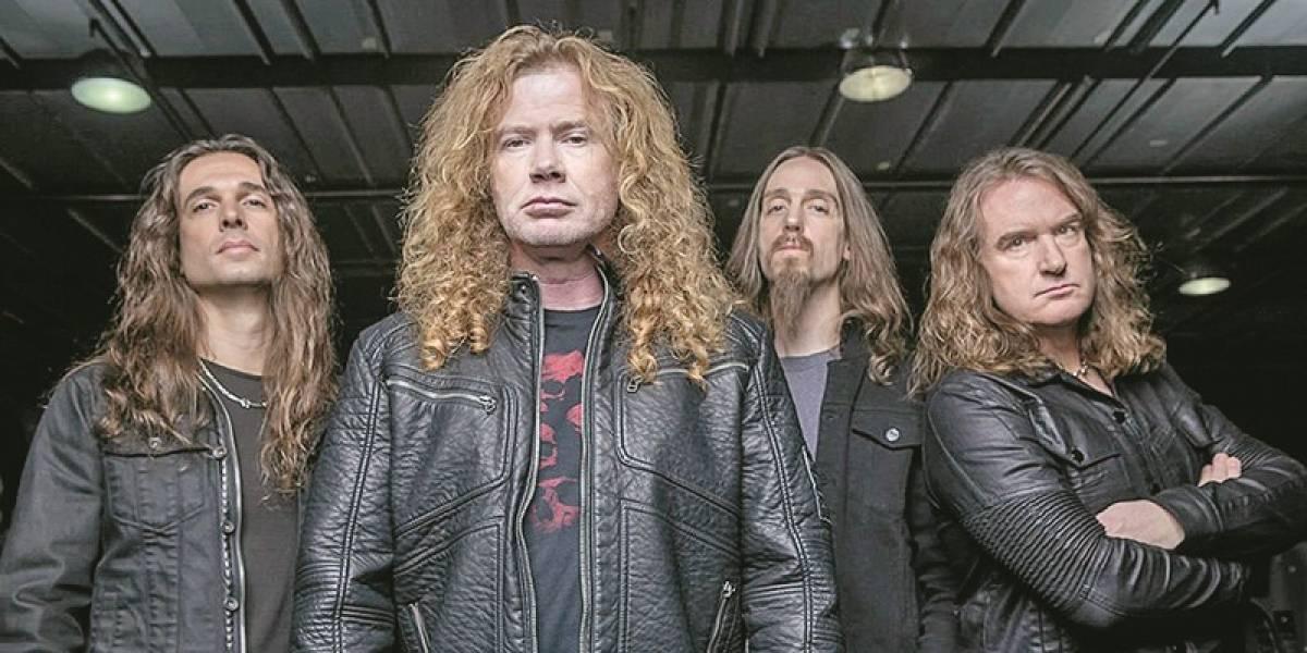 Megadeth afina el lanzamiento de su recopilación de aniversario