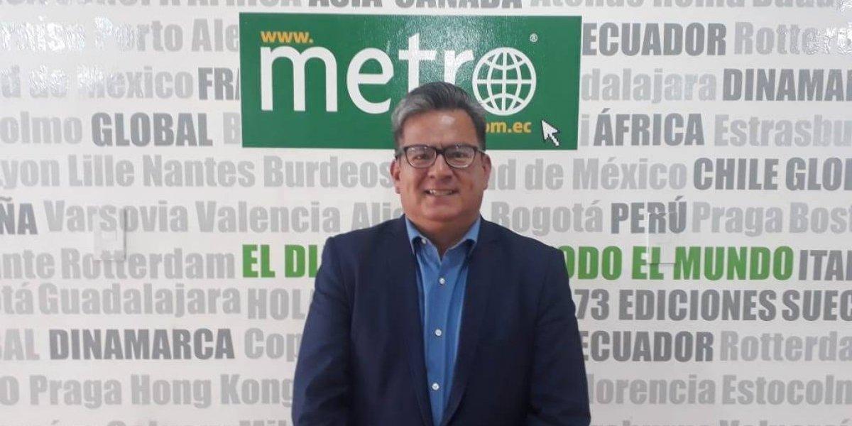 """Patricio Guayaquil: """"Quiero devolver la ciudad a los quiteños"""""""