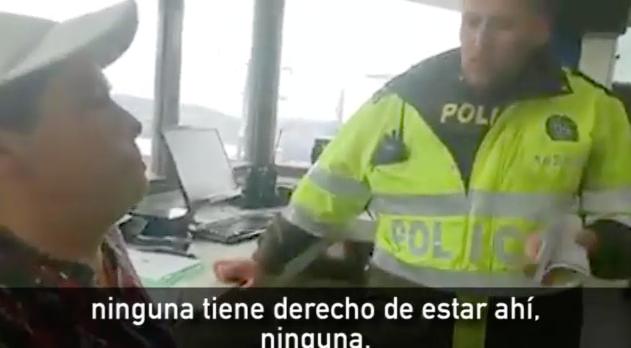 Video: policía llamó payaso al congresista Inti Asprilla