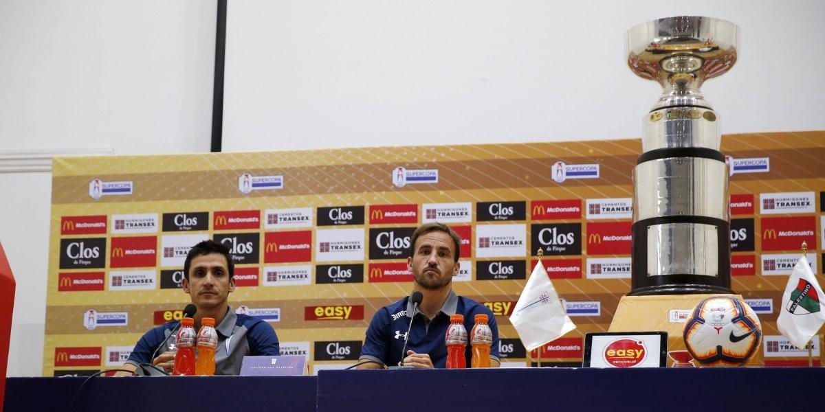 """Chapa Fuenzalida y la disputa de la Supercopa ante Palestino: """"Enfrentaremos a un gran equipo, pero estamos en un buen momento"""""""