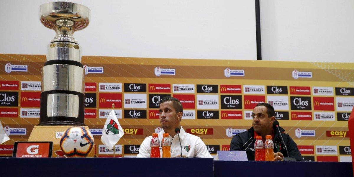"""Capitán de Palestino elogia a la UC: """"Nos enfrentaremos al mejor equipo, tiene la mejor plantilla del fútbol chileno"""""""