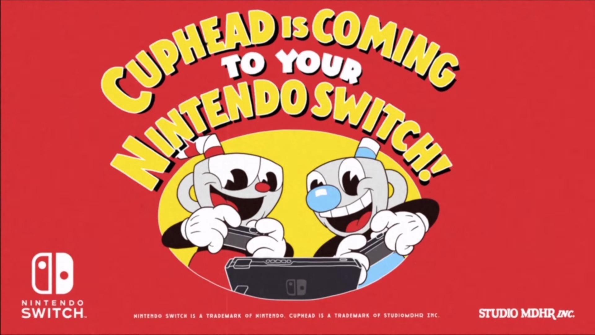Cuphead Nintendo