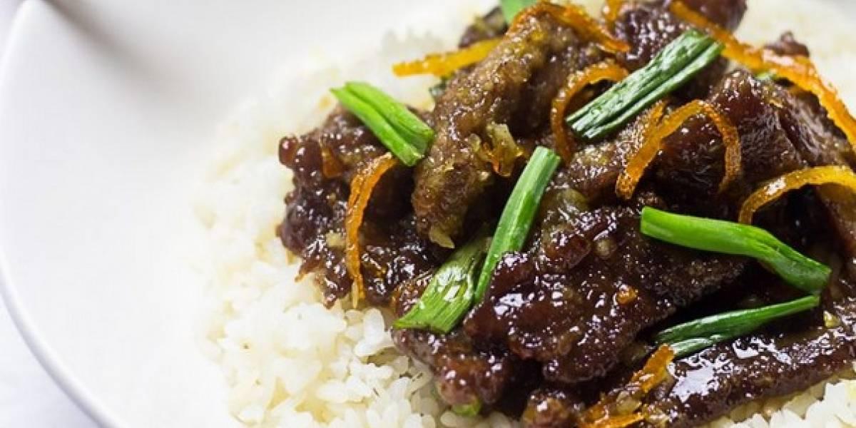 Cómo hacer carne a la naranja (crispy orange beef)