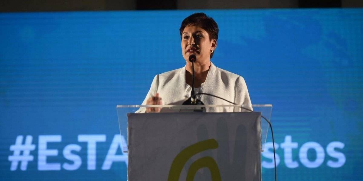 Movimiento Semilla acciona en la CSJ para que Aldana sea inscrita como candidata