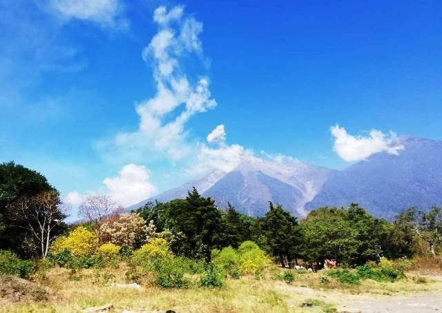 Volcán de Fuego. Foto: Conred