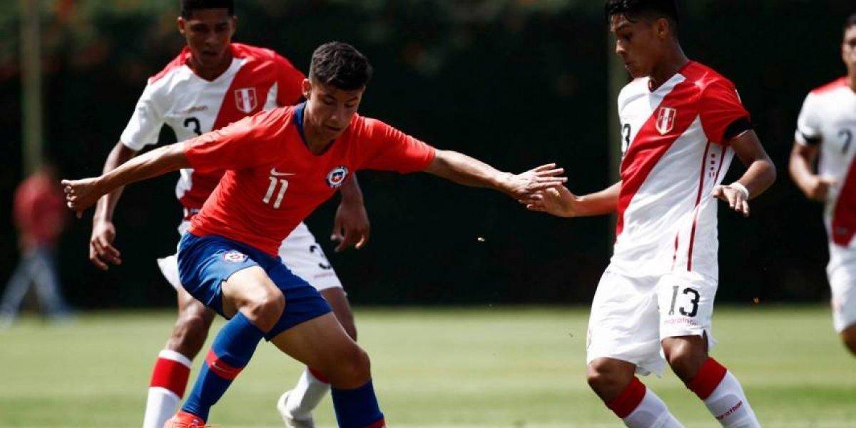 Así vivimos el empate sin goles de Chile ante Perú en el inicio del Sudamericano sub 17