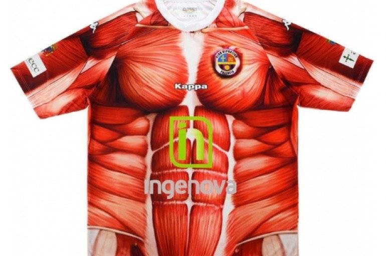 Deportivo Palencia - Em 2012 a pequena equipe decidiu mostrar com quanto gomos no abdômen se faz uma equipe de futebol. Ainda bem que foi só aquele ano. Reprodução/ Arquivo- El tiempo