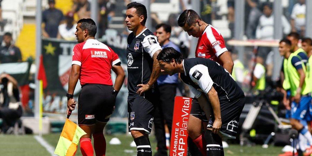 """Paredes se resta presión en Colo Colo: """"No me siento titular, el equipo jugó bien en las primeras fechas"""""""