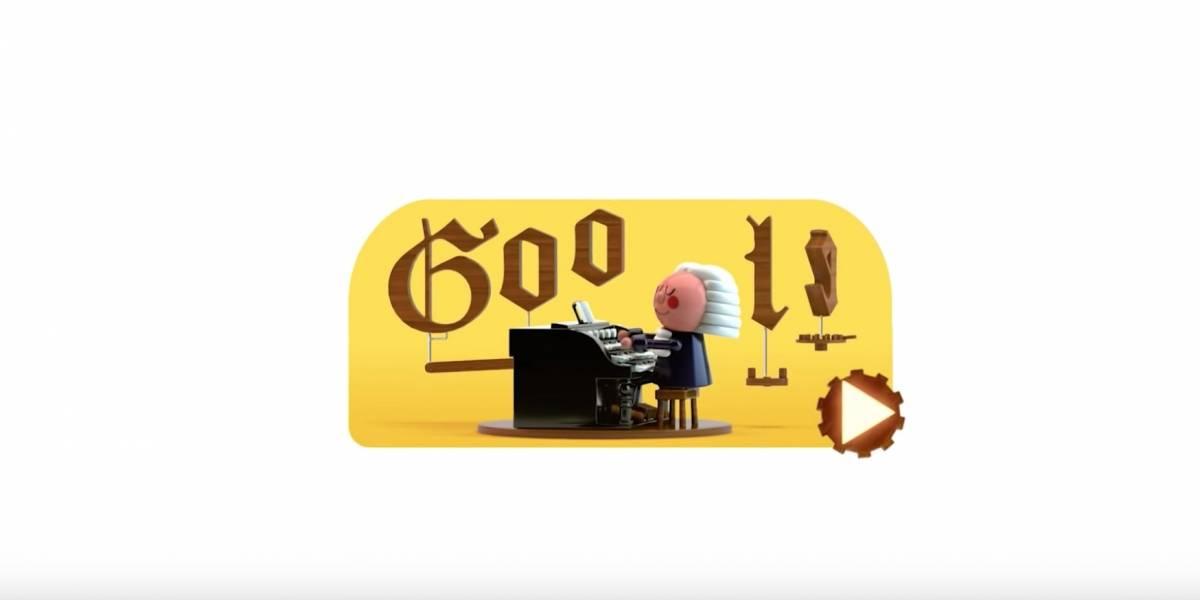 Así se juega con el doodle dedicado a Bach — Johann Sebastian Bach