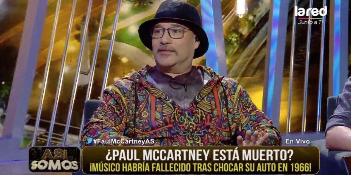 """""""Así Somos"""" se impuso ante TVN y Canal 13 usando """"la vieja confiable"""": Salfate y la supuesta muerte de Paul McCartney"""