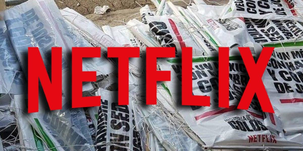Gobierno de México retira carteles de la serie sobre Colosio de Netflix