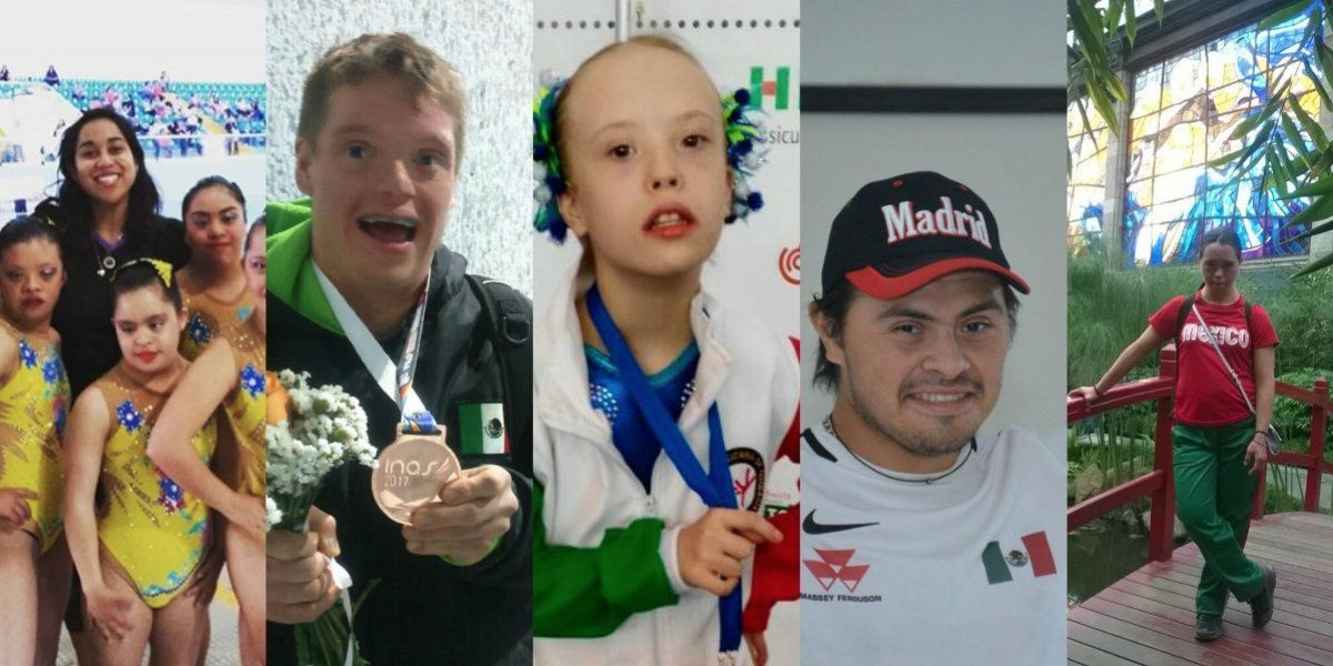 Los mejores atletas mexicanos con Síndrome de Down