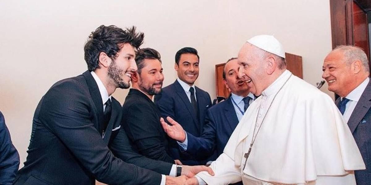 Encuentro de Sebastián Yatra con el papa Francisco ha dado de qué hablar