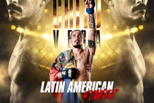 UFC: Marlon 'Chito' Vera vs Frankie Sáenz, dónde ver la pelea, hora, fecha