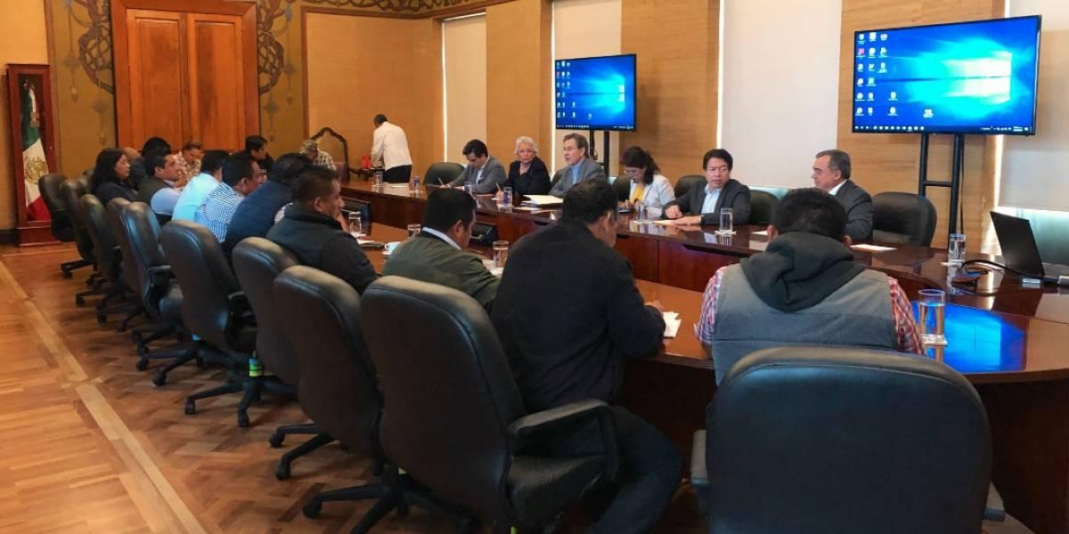 SEP y Segob discuten con CNTE la Reforma Educativa