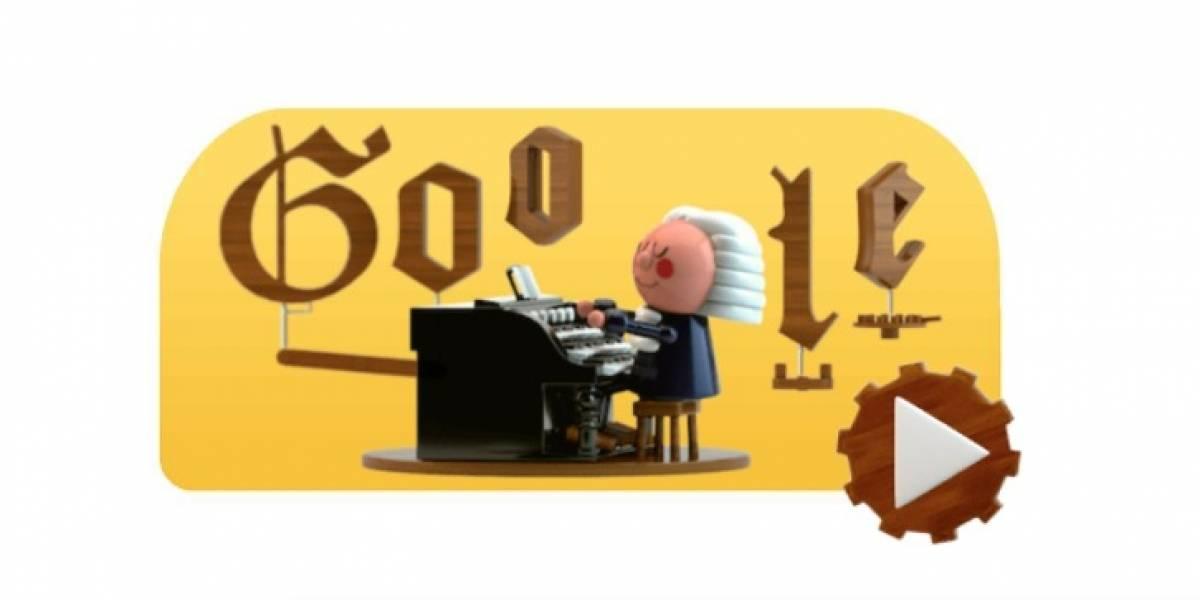 Johann Sebastian Bach protagoniza primer Doodle con Inteligencia Artificial