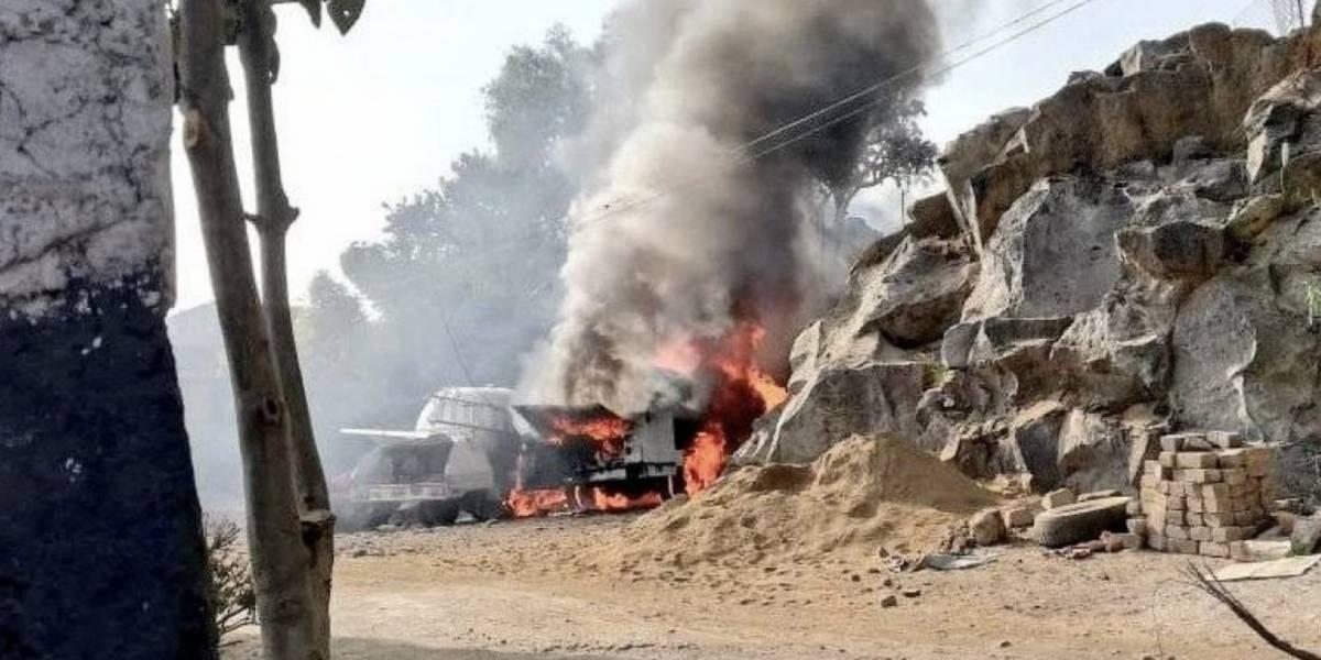 Explosión de pipa de gas en México deja al menos seis heridos