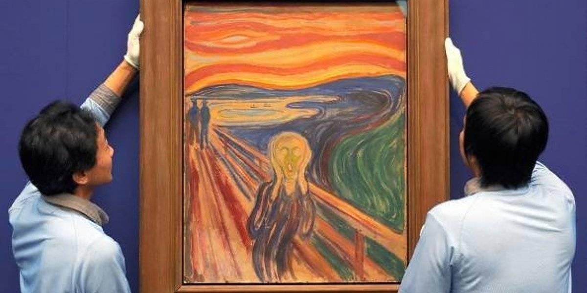 """¡El fin de un mito!revelan que en """"El grito"""" de Munch no hay nadie gritando"""