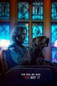 Este es el poster de 'John Wick 3: Parabellum', película de Keanu Reeves