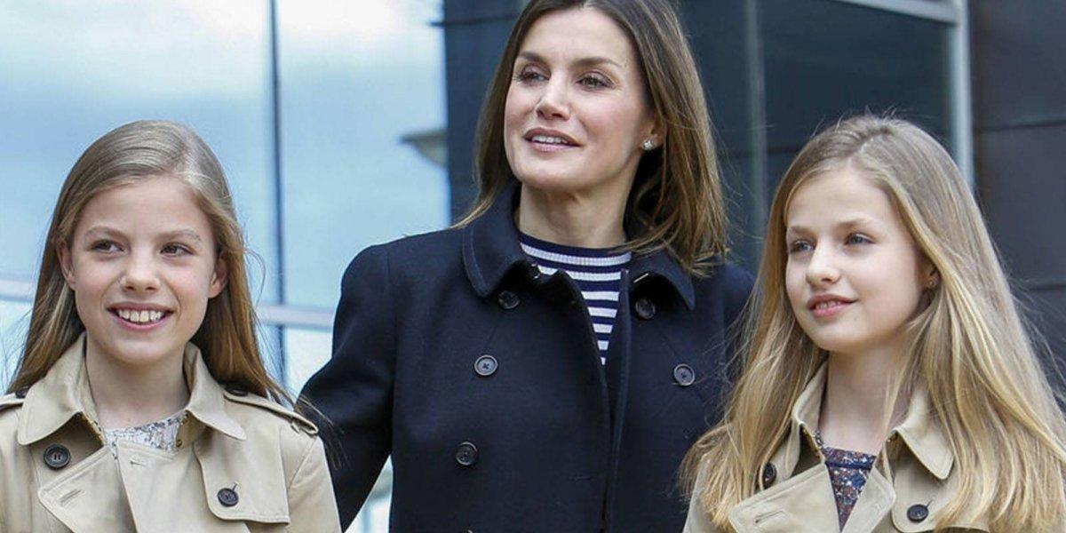 La absurda regla de la reina Letizia que está arruinando la vida de sus hijas Leonor y Sofía