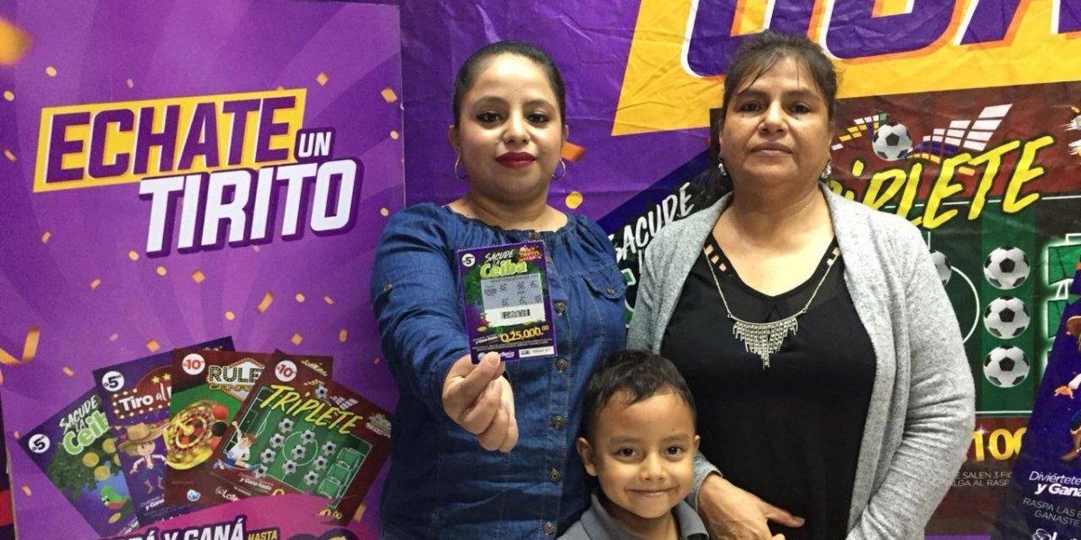 Ganadora de la Lotería del Niño utilizará el premio para comprar su primer carro