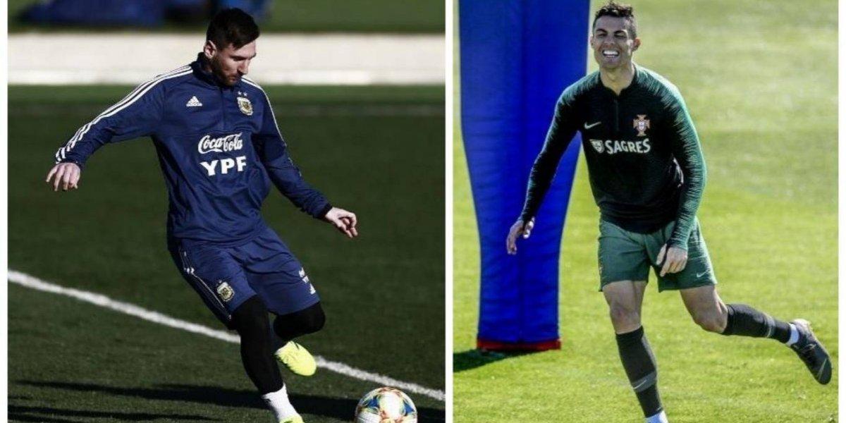 El esperado regreso Messi y Cristiano marcan la Fecha FIFA