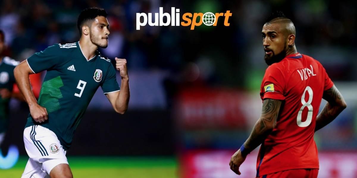 México vs Chile, ¿dónde y a qué hora ver el partido?