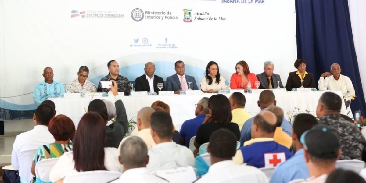 Interior y Policía instala Mesa de Seguridad, Ciudadanía y Género en Sabana de la Mar