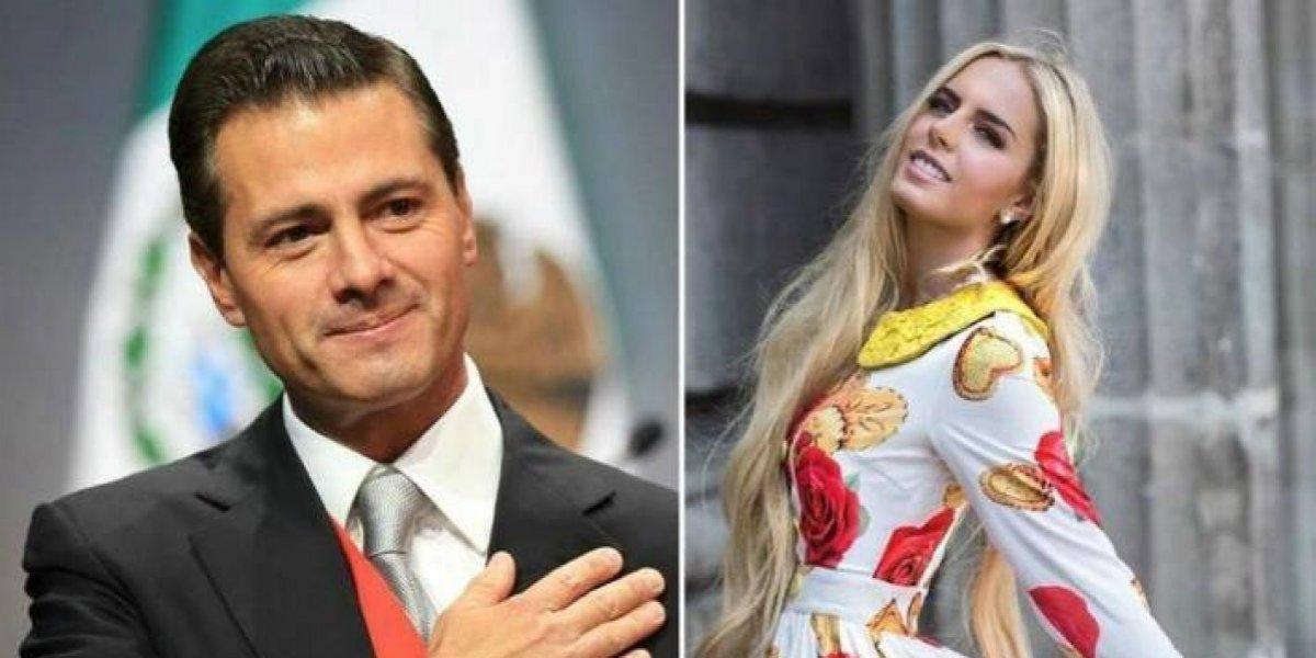 Enrique Peña Nieto y su novia Tania Ruiz protagonizan portada de revista