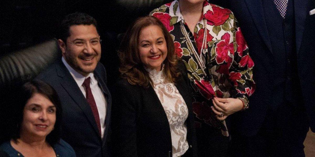 Sanjuana Martínez rinde protesta como nueva directora de Notimex
