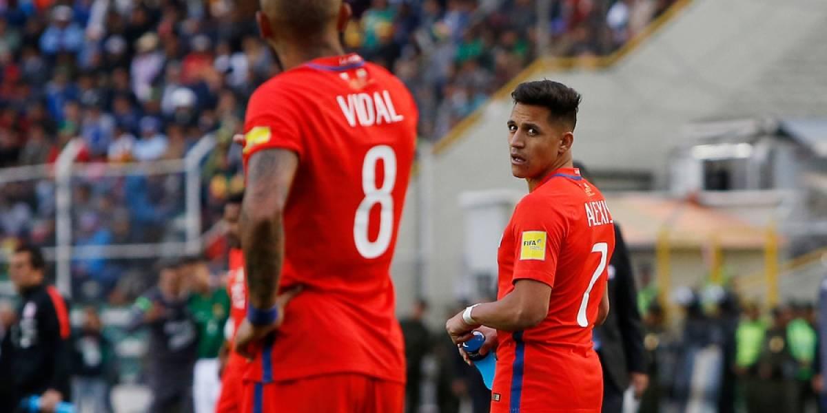 Totalmente a la baja: Alexis y Vidal integran el listado de los futbolistas más desvalorizados del mercado