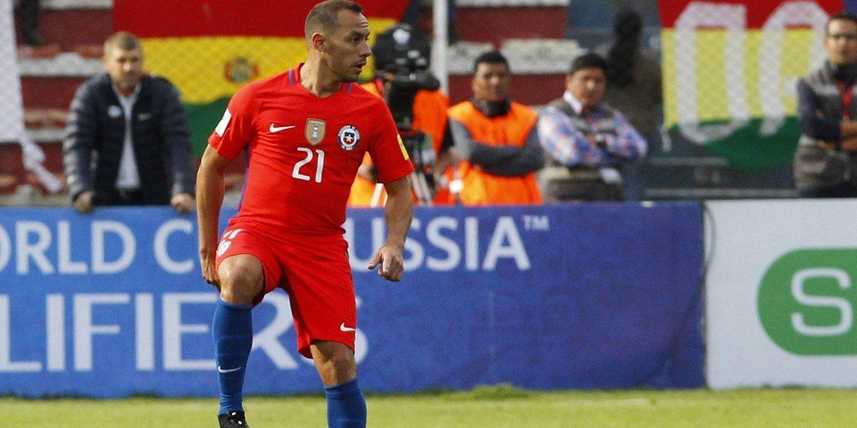Rueda se molestó y se negó a responder sobre la nueva ausencia de Marcelo Díaz en la Roja
