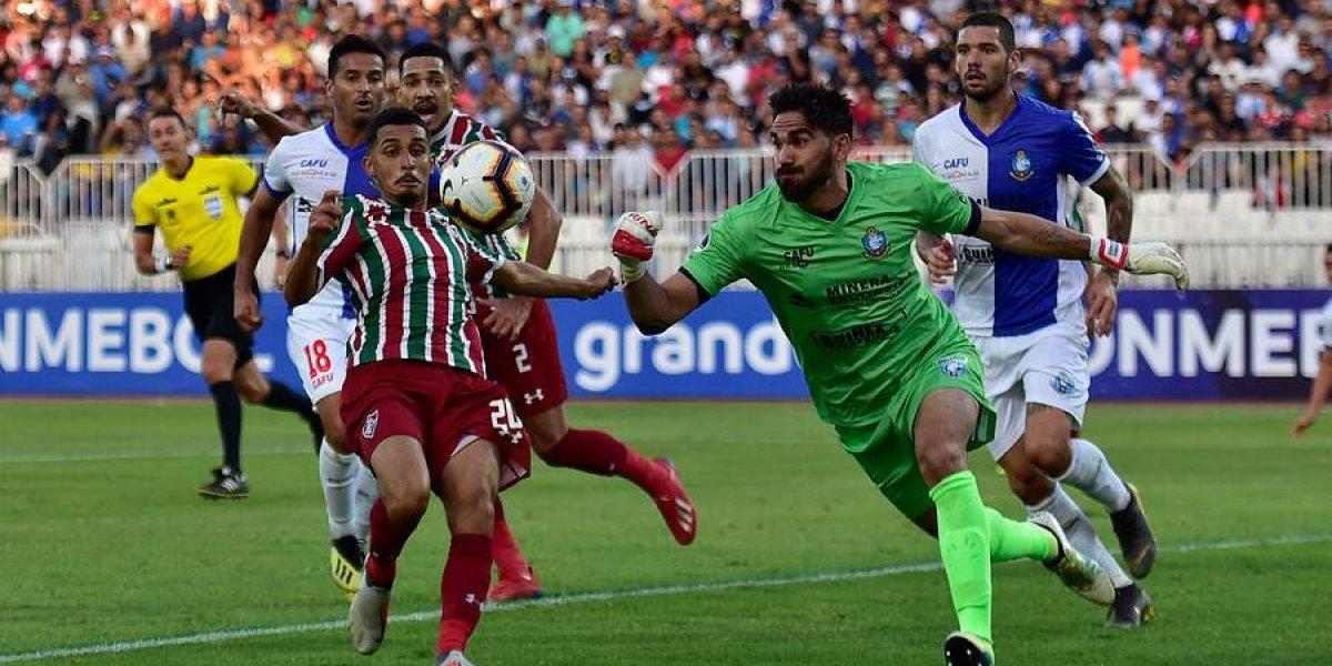 No bastó con San Fernando Hurtado: Antofagasta quedó fuera de la Copa Sudamericana a manos del Fluminense