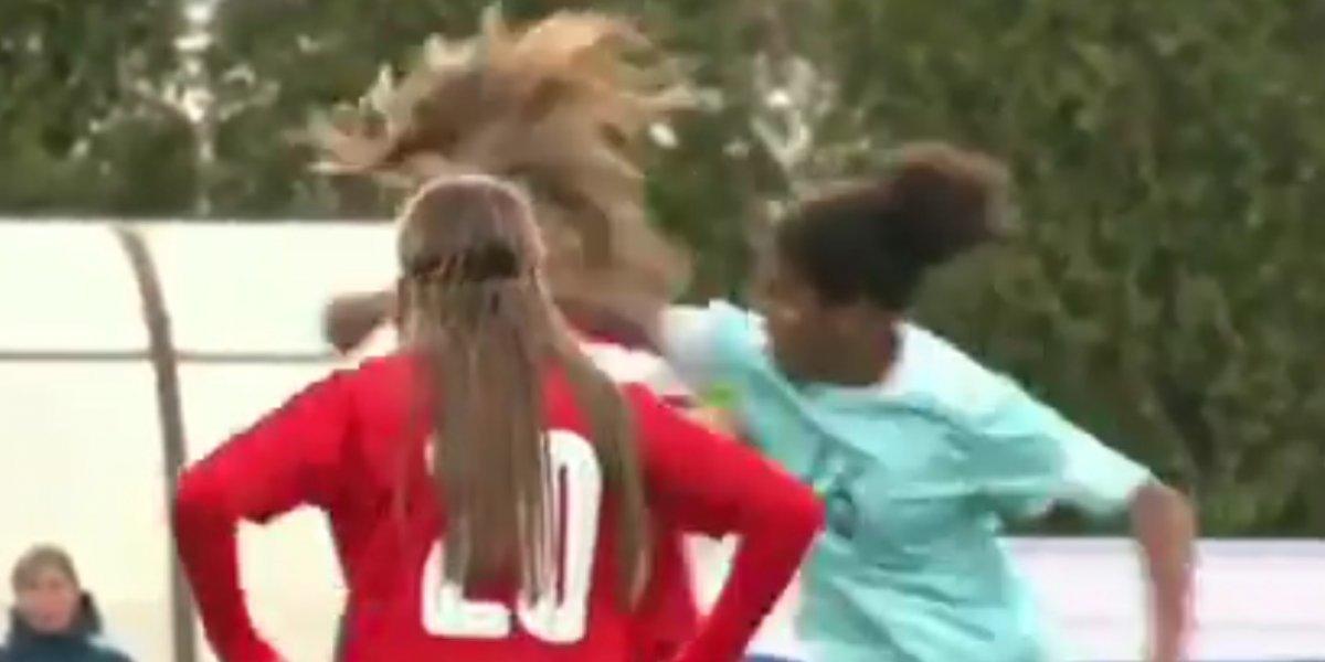 Futbolistas Sub-17 se enfrascan en tremenda pelea